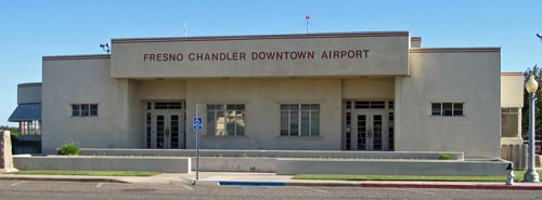 Chandler Field Administration Building Terminal Fresno