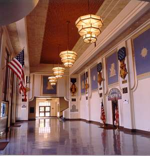 Memorial Auditorium lobby