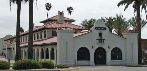 Santa Fe Railroad Depot Fresno California