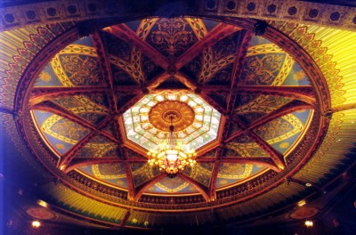 Pantages Theatre ceiling